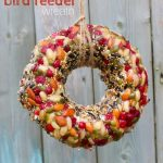 Kid-Made Bird Feeder Wreath