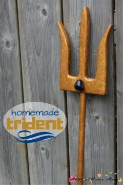 Homemade Trident Inspired by Mako Mermaids