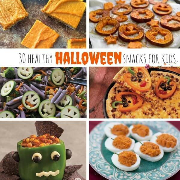 30 Healthy Halloween Recipes for Kids - perfect Halloween Party Food to avoid sugar highs and crashes