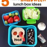 5 Healthy Halloween Lunch Box Ideas