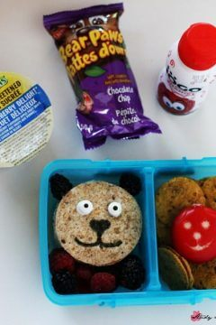 Bear Lunch Box Idea