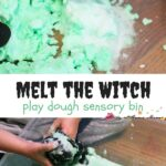 Melt the Witch Sensory Bin