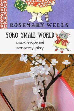 Yoko Small World: Book-inspired Sensory Play