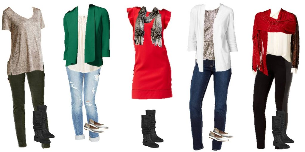 Using the same clothes, you can make several types of outfits. That will save shopping time and your wallet!