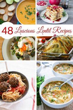 48 Luscious Lentil Recipes