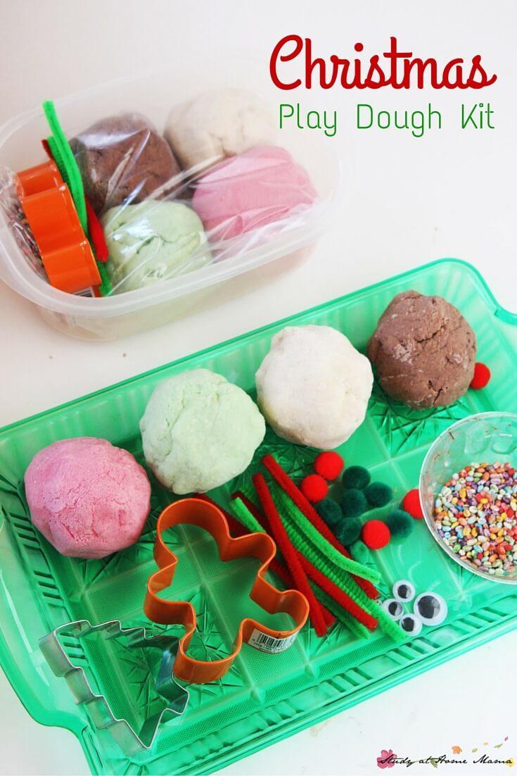 Christmas Play Dough Kit