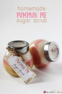 Homemade Pumpkin Pie Sugar Scrub