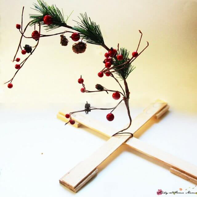How to make a homemade Charlie Brown Christmas Tree