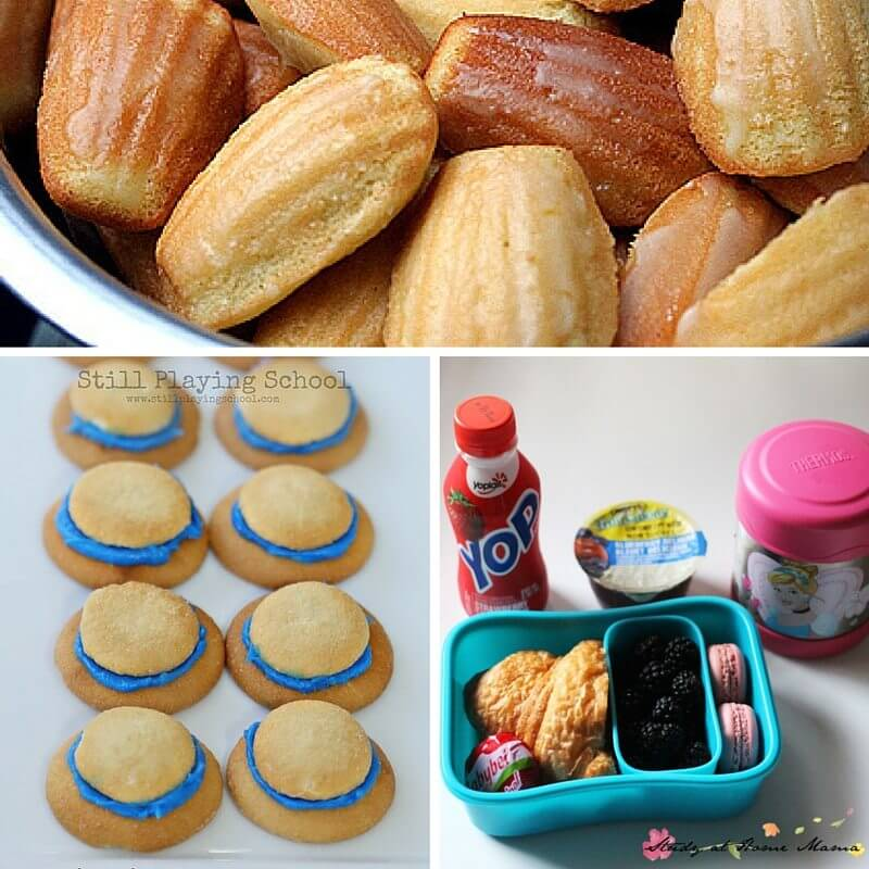 Madeline-inspired snacks and a Madeline lunch box idea are great ways to extend the book and have a bit of fun