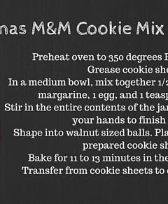 Mason Jar Gift: Santa's Cookies