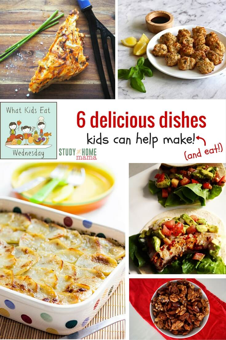 6 delicious dishes kids can help make (and eat) - part of a weekly installment sharing the best of family-friendly food the internet has to offer