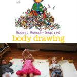 Munsch-inspired Body Drawings
