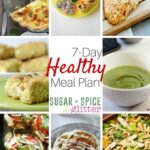 7 Day Simple & Healthy Meal Plan