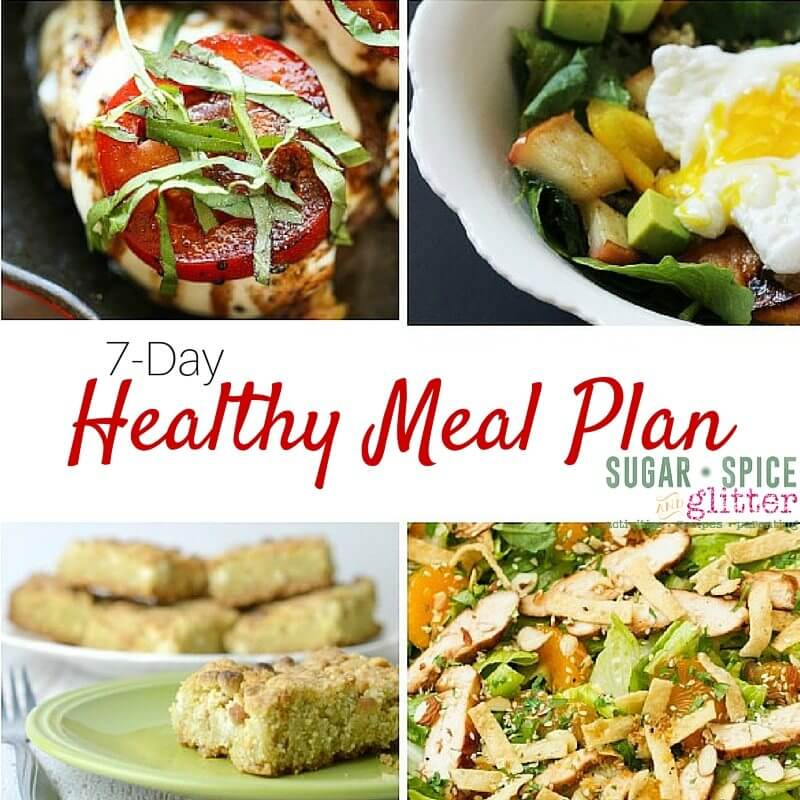 7-Day Healthy Meal Plan square