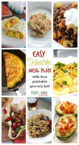 Healthy Meal Plan 6 Winter