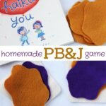 Homemade PB&J Felt Game
