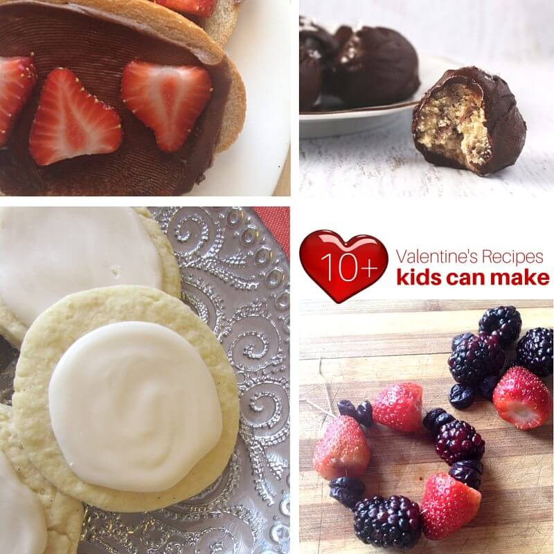 Valentine's Recipes Kids Can Make