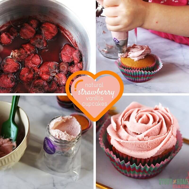 natural strawberry cupcakes (4)