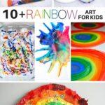 10+ Rainbow Art Activities for Kids