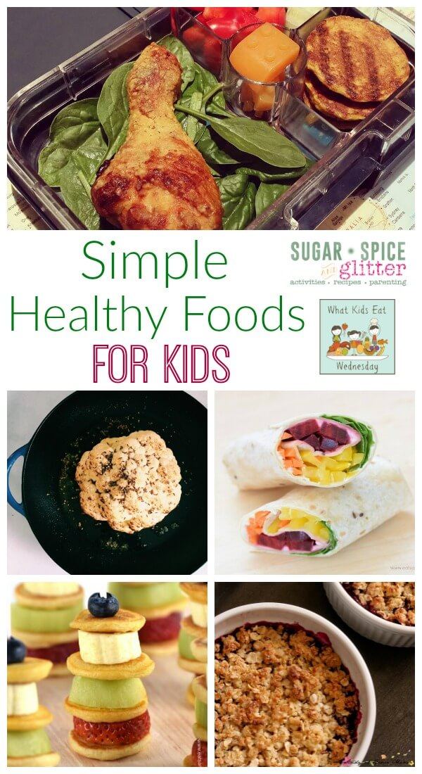 Do you have a picky eater? Here are some great simple healthy food ideas for kids that are sure to please. Simple ingredients and easy to make for happy, busy moms.