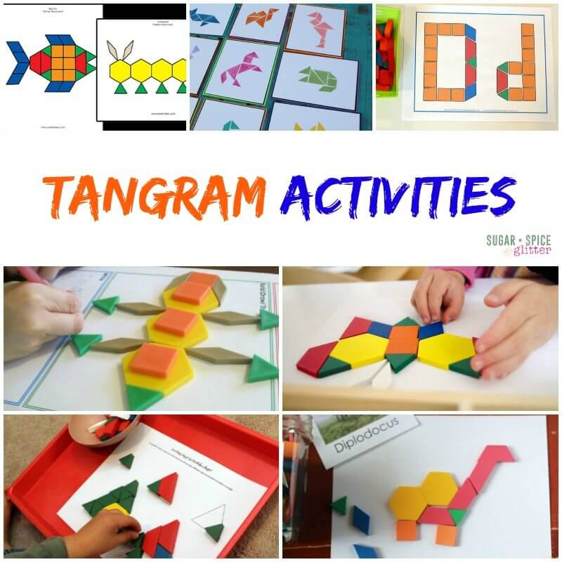 Tangram Activities on Sugar Spice and Glitter 3
