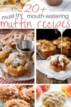 20+ Yummy Muffins for Kids