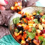 Fresh Rainbow Salsa