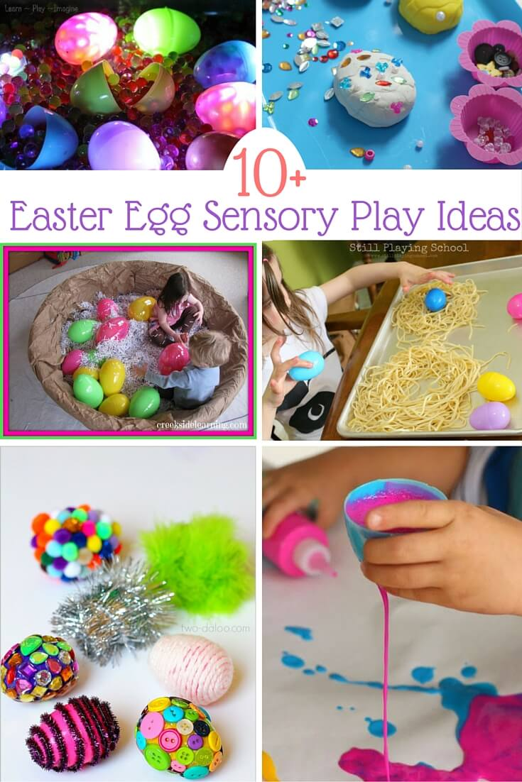 10 Easter Egg Sensory Play Sugar Spice And Glitter