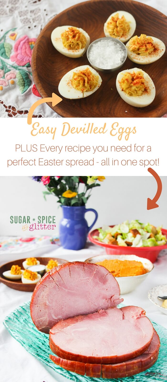 Easy Devilled Eggs, Honey-Caramel Ham, No-Mayo Caesar Salad, and more! Every Easter recipe you're going to need for the perfect Easter supper menu