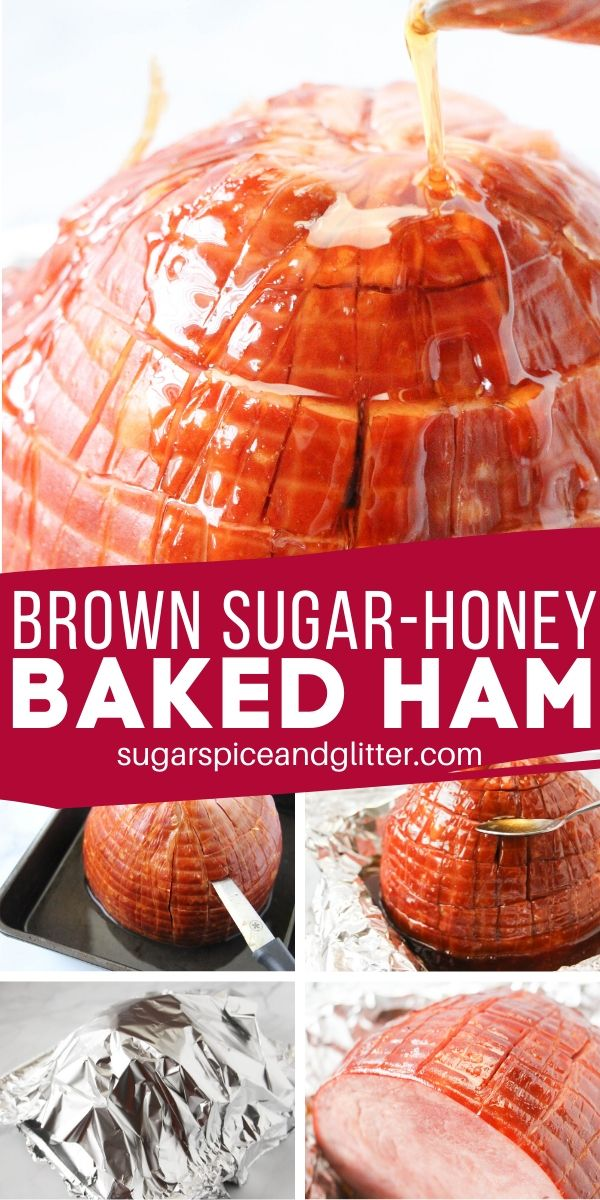 If you like your Easter ham sweet and savoury, this Brown Sugar Honey Ham is perfect for you! Just three ingredients and minimal prep result in the perfect holiday ham!