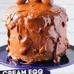 Cream Egg Cake