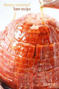 honey-caramel ham recipe (1)