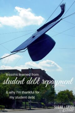 Lessons Learned from Repaying Student Loans