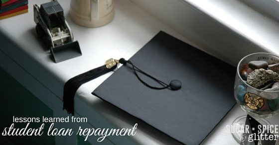 student loan repayment budgeting