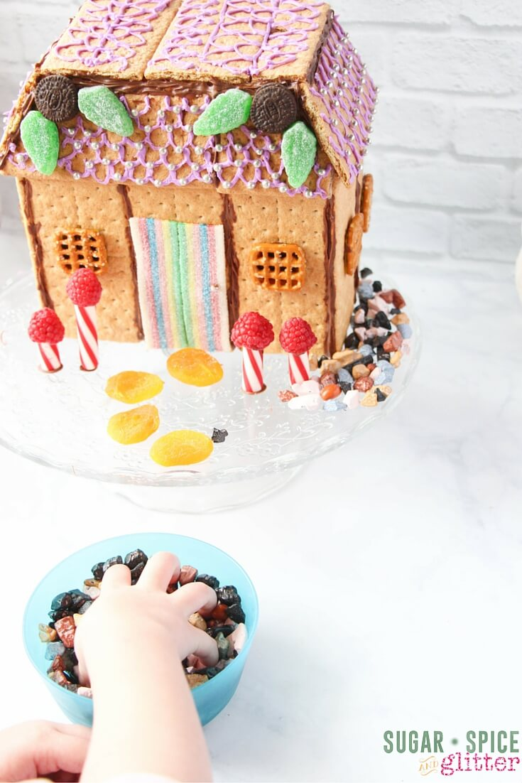 how to make an edible fairy house