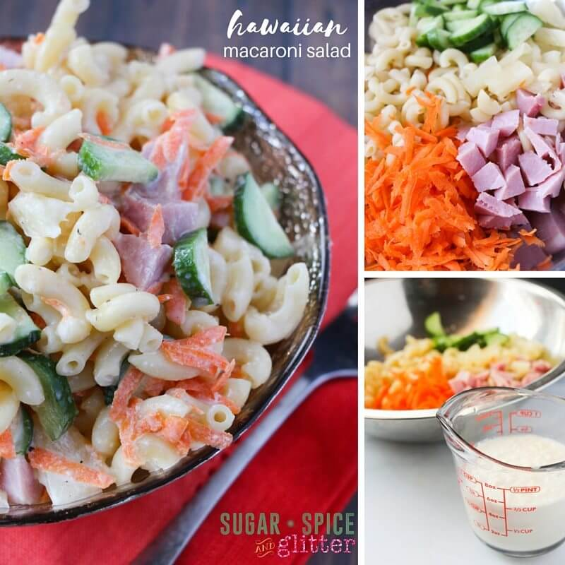 How to make hawaiian macaroni salad - an easy summer salad recipe