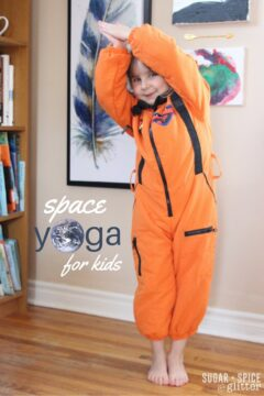 Space Yoga for Kids