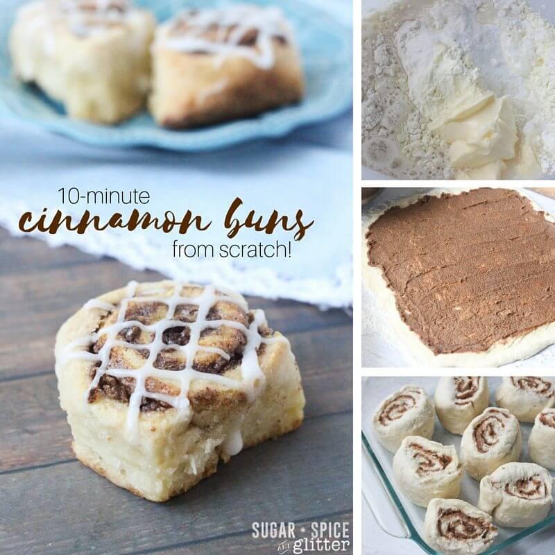 10-minute cinnamon buns