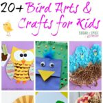 20 + Bird Crafts for Kids