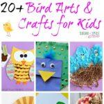 20 + Bird Crafts for Kids