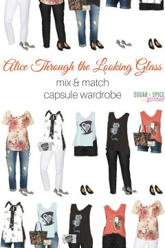 Alice Through the Looking Glass Capsule Wardrobe