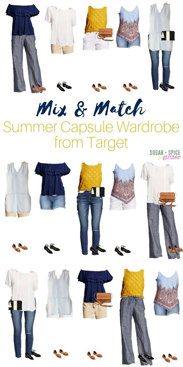 Mix & Match Summer Capsule Wardrobe