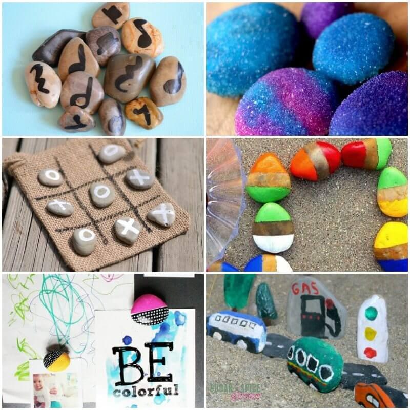 Rockin Rock Crafts for Kids on Sugar Spice and Glitter