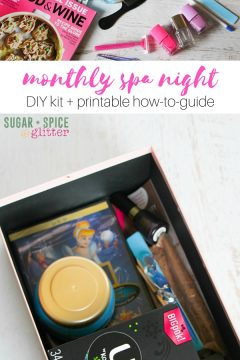 DIY Monthly Spa Night Kit