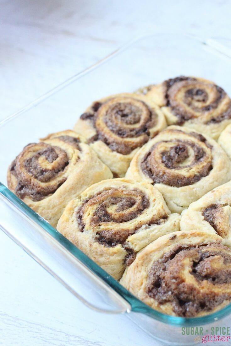 cinnamon bun quick recipe