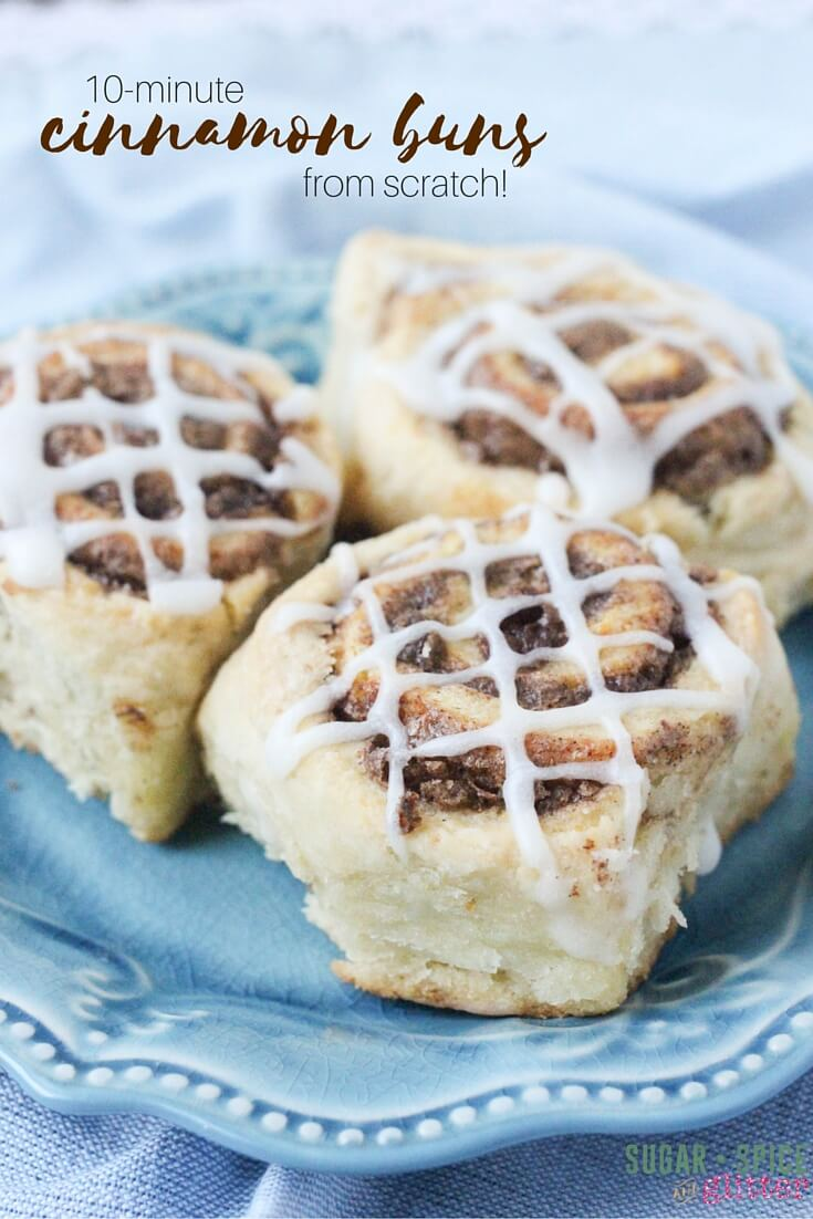 A Quick And Easy Cinnamon Bun Recipe Make Cinnamon Buns From Scratch In  Minutes