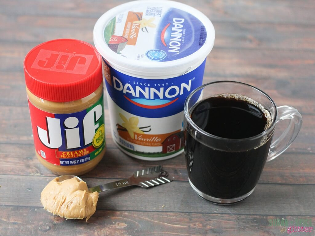How to make a peanut butter iced coffee