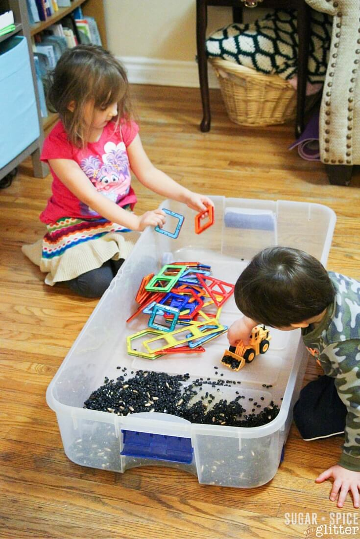 construction sensory play (1)