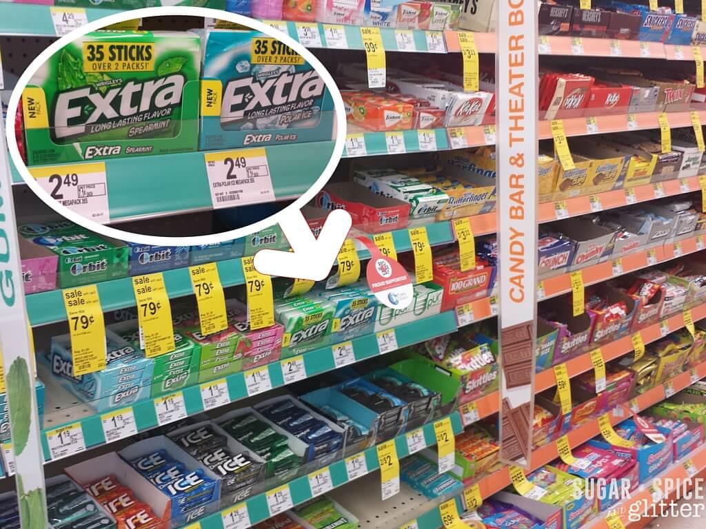 extra gum in store