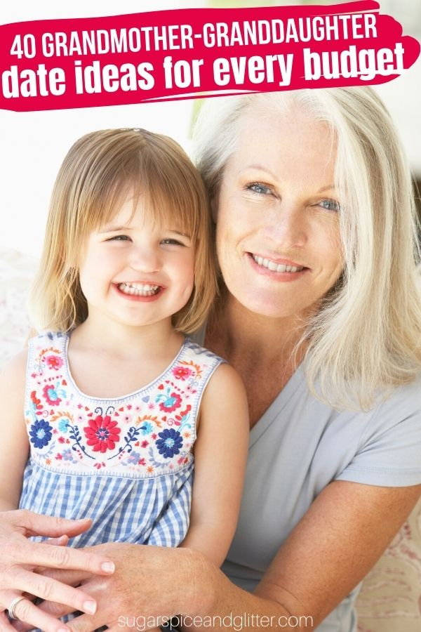 Awesome, budget-friendly ideas to spend quality time with grandparents and grandkids. Plus printable checklist of ideas that you can put on the fridge and check off as you go!